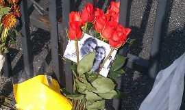 Dan Weldon's Memorial at IMS Photo: Shari Reiter
